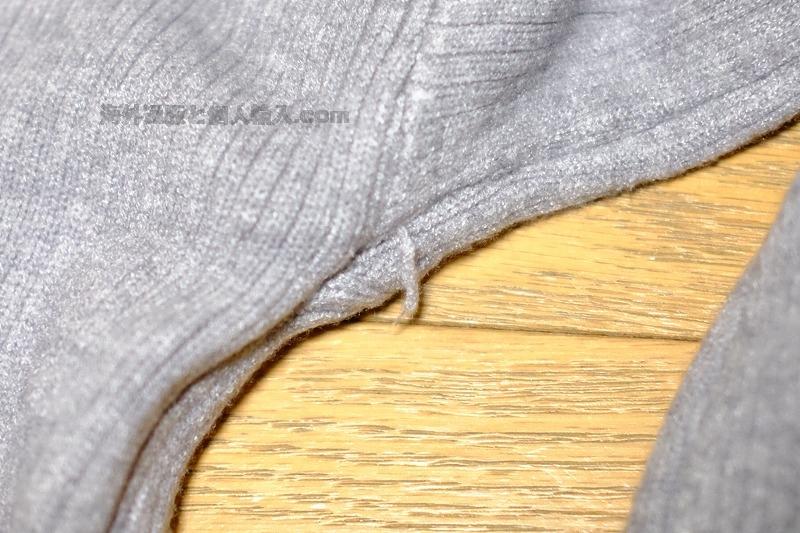 ZAFUL モックネックセーターの質