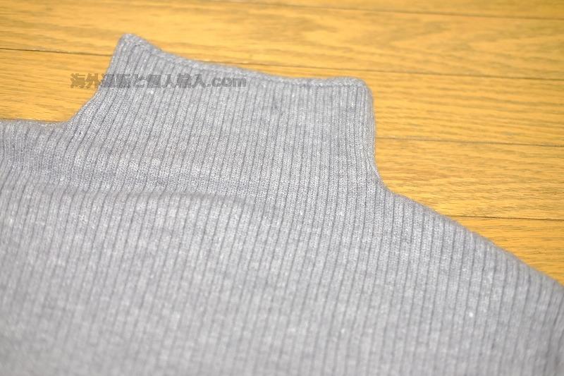 ZAFUL モックネックセーター